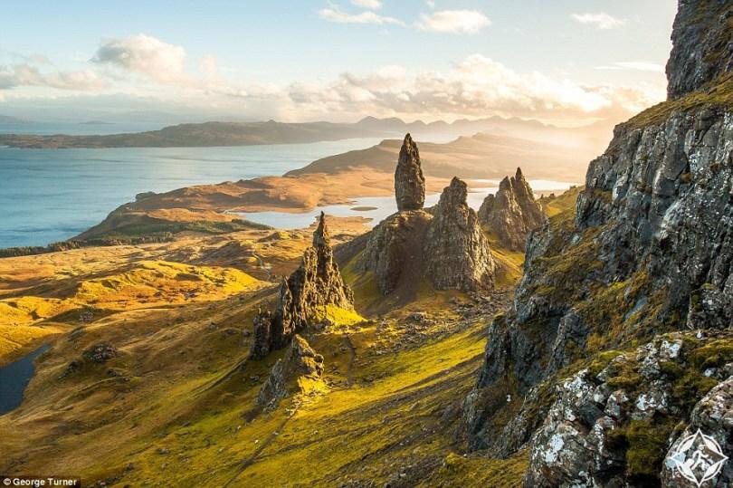 بالصور ..  شاهد الطبيعة الساحرة فى اسكتلندا