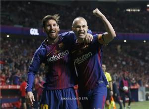 بالفيديو: شاهد اهداف تتتويج برشلونة بلقب كأس ملك اسبانيا على حساب اشبيلية