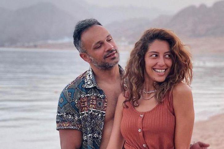 بالصور  ..  محمد عطية يكشف للمرة الأولى سبب انفصاله عن ميرنا الهلباوي
