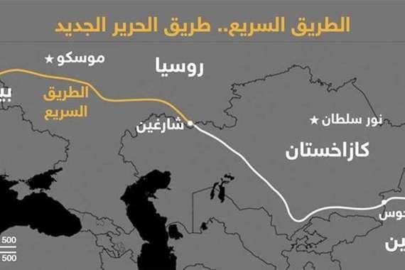 روسيا تغير خريطة العالم بطريق جديد