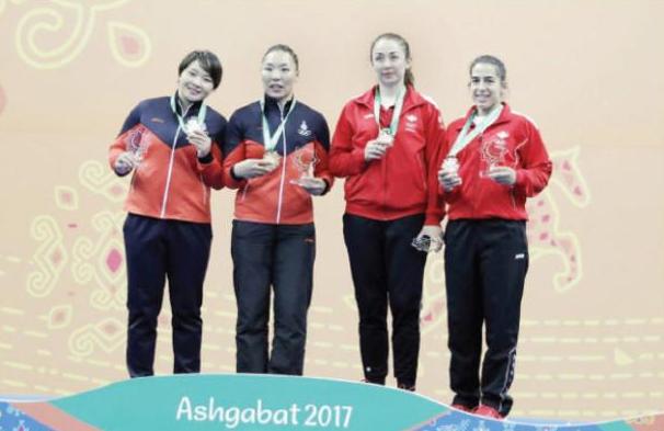 قبج والصايغ تضيفان برونزيتين للأردن بدورة الألعاب الآسيوية