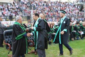 الروابدة يرعى حفل تخريج لجامعة الزيتونة