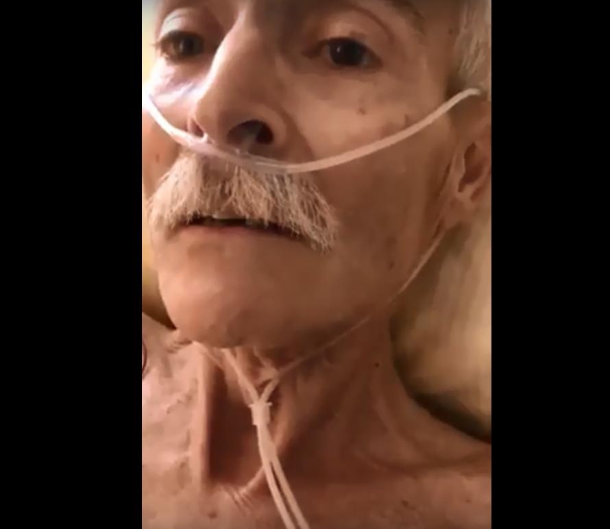 بالفيديو  ..  الماني تجاوز عمره ٧٠ سنه أسلم وهوز على فراش الموت
