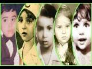 بالفيديو: شاهد براءة الفنانين العرب وهم أطفال (صور نادرة)
