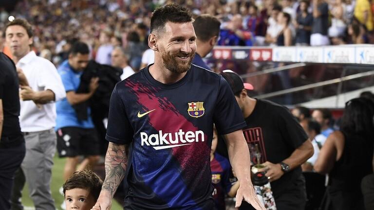 رسميا ..  ميسي في قائمة برشلونة لمواجهة دورتموند