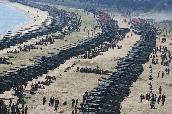 """سيناريو مرعب للحرب مع كوريا الشمالية  ..  غزو أمريكي """"براً وبحراً وجواً"""" وعمليات عميقة"""