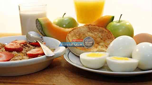 أفضل الأطعمة في وجبة الإفطار