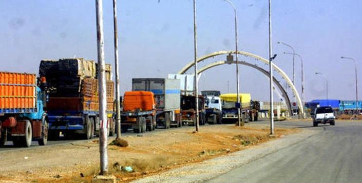 العراق يُعفي البضائع الاردنية من الرسوم الجمركية