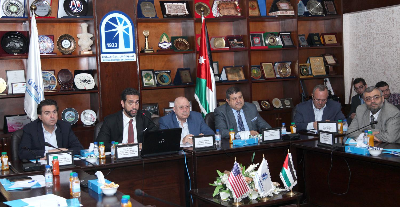 """""""تجارة عمّان"""" تبحث سبل تعزيز التعاون التجاري بين الأردن والولايات المتحدة"""