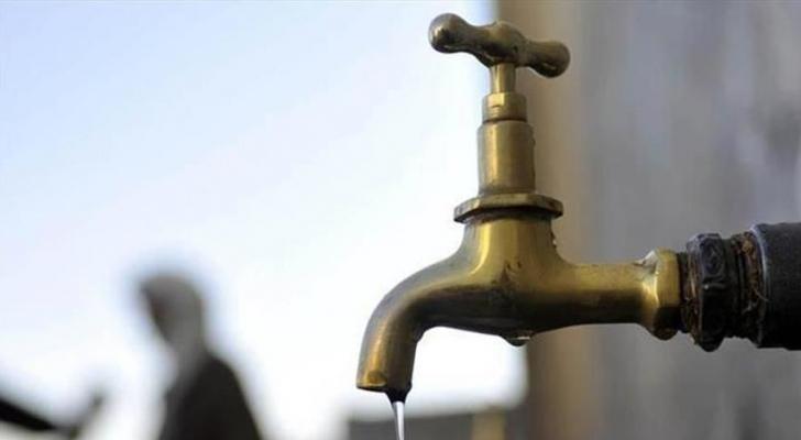 توقف ضخ المياه عن مناطق في عمان و مأدبا  ..  أسماء