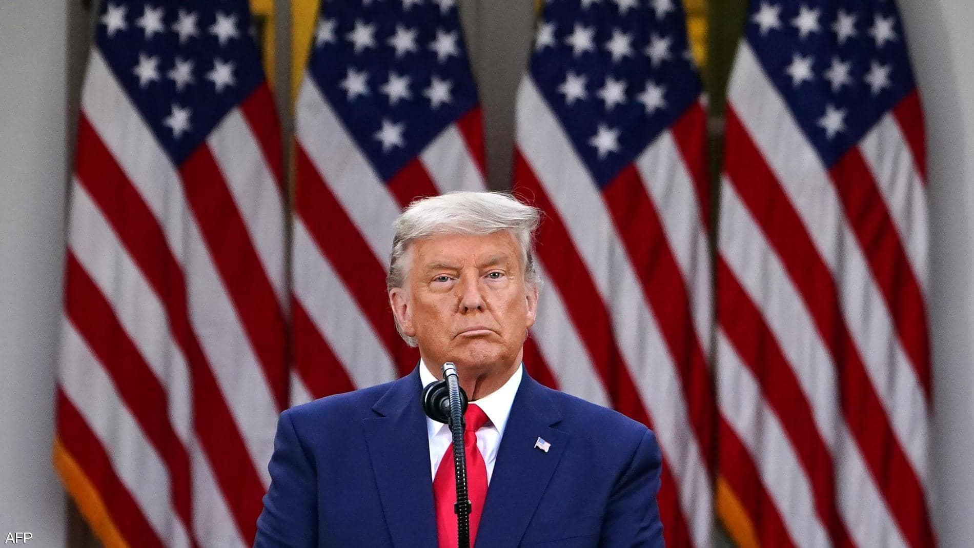 ترامب : أدعو جميع الأميركيين إلى المساعدة في تهدئة التوترات