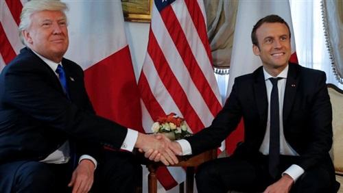 الرئيس الفرنسي: مصافحتي لترامب لم تكن بريئة