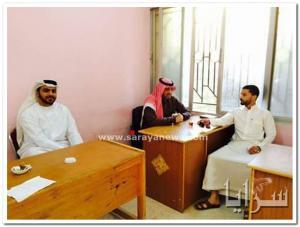 معلمون يرتدون الزي العربي رداًَ على مذيع اردني .. صور