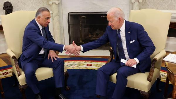 بايدن يعلن انتهاء المهام القتالية للقوات الأمريكية في العراق