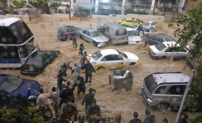 أمانة عمان تستعد لعاصفة مطرية متوقعة الأحد