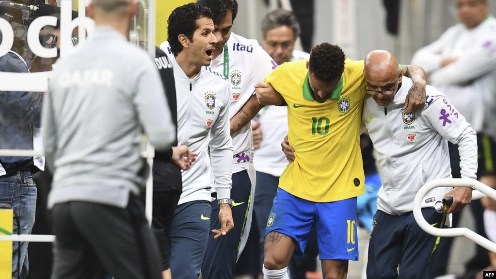 """قبل انطلاقة """"كوبا أميركا""""  ..  مخاوف تلاحق البرازيل بغياب نيمار أربعة أسابيع"""