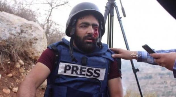 الصحفي العمارنه: سارجع الى الميدان