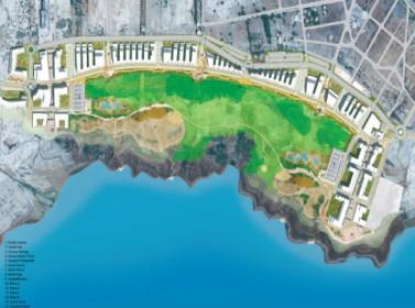 إنجاز 60 % من المرحلة الأولى لمشروع كورنيش البحر الميت