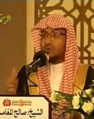 بالفيديو  ..  محاضرة للشيخ صالح المغامسي محاضره مؤثرة جدا