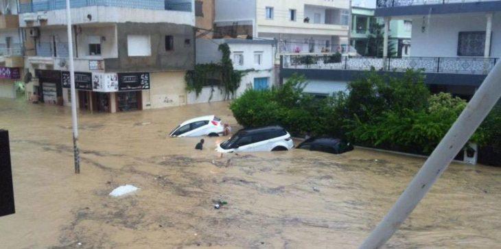 """عزل إمام مسجد في تونس اعتبر الفيضانات """"عقابًا من الله"""""""