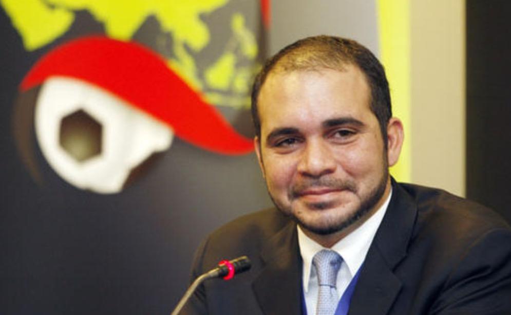 الأمير علي يشيد بقرار الفيفا برفع الحظر عن الملاعب  العراقية