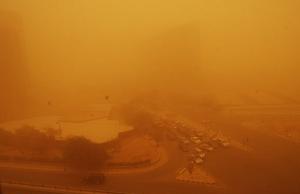 السعودية : رياح سطحية مثيرة للأتربة على الرياض