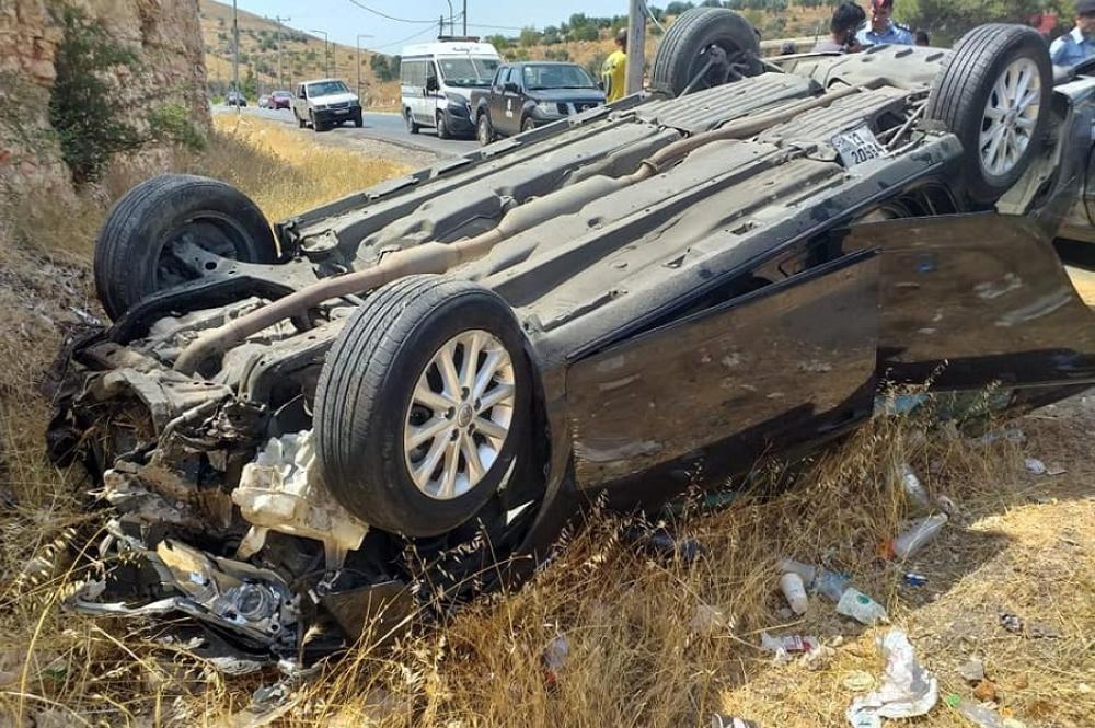 اربد : وفاة اربعيني جراء تدهور مركبة على طريق الأغوار