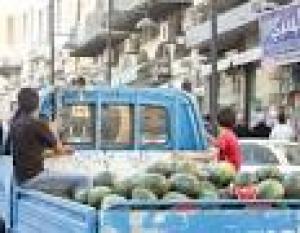 """""""اقليم البترا"""" يشدد الرقابة على سيارات بيع الخضار الفواكه المتجولة"""