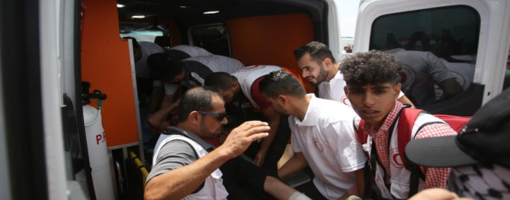 إصابة 8 مواطنين بالرصاص والعشرات بالاختناق في بيتا