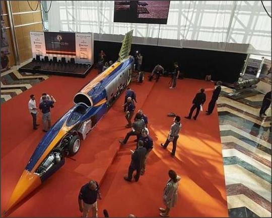 بالصور ..  شاهد سيارة فريدة تجمع بين تكنولوجيا طائرة مقاتلة وسيارة فورمولا 1