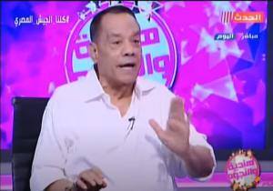 """بالفيديو ..  حلمي بكر ينفعل على """"كزبرة"""" ويطرده من الاستديو: فاكر نفسك فين؟"""