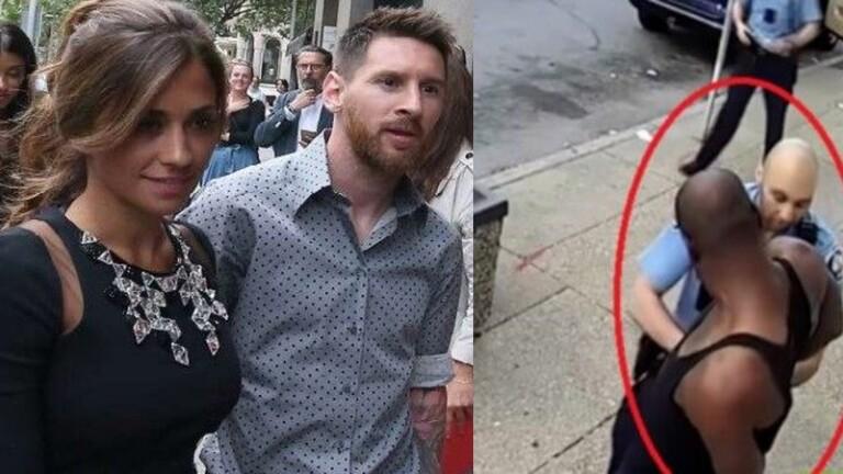 """حسابا ميسي وزوجته في """"إنستغرام"""" يتشحان بالسواد تضامنا مع الأمريكي المقتول فلويد (صور)"""