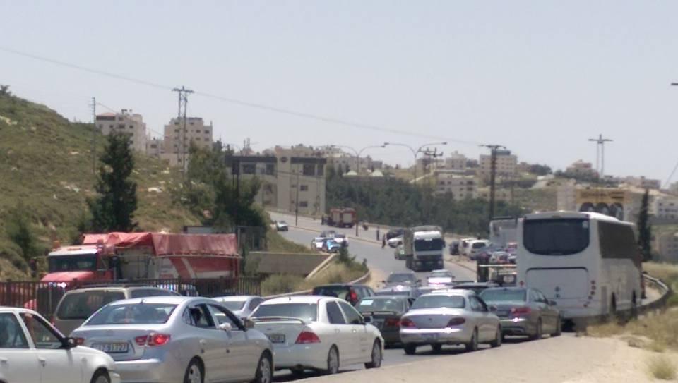 """شارع الموت يحصد أرواح المواطنين في """"مرج الحمام""""..والجهات المعنية غايبة فيلة """"صورة"""""""