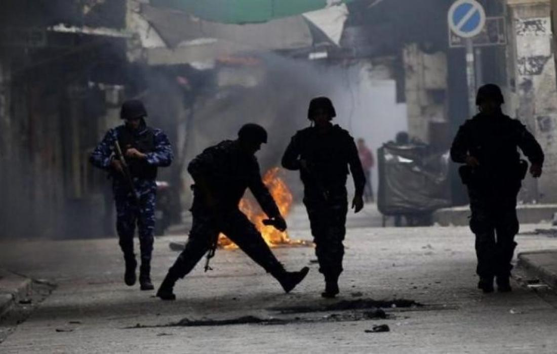 اشتباك مسلح بين مقــاومين والاحتلال في جنين واعتقال 14 مواطنا من الضفة