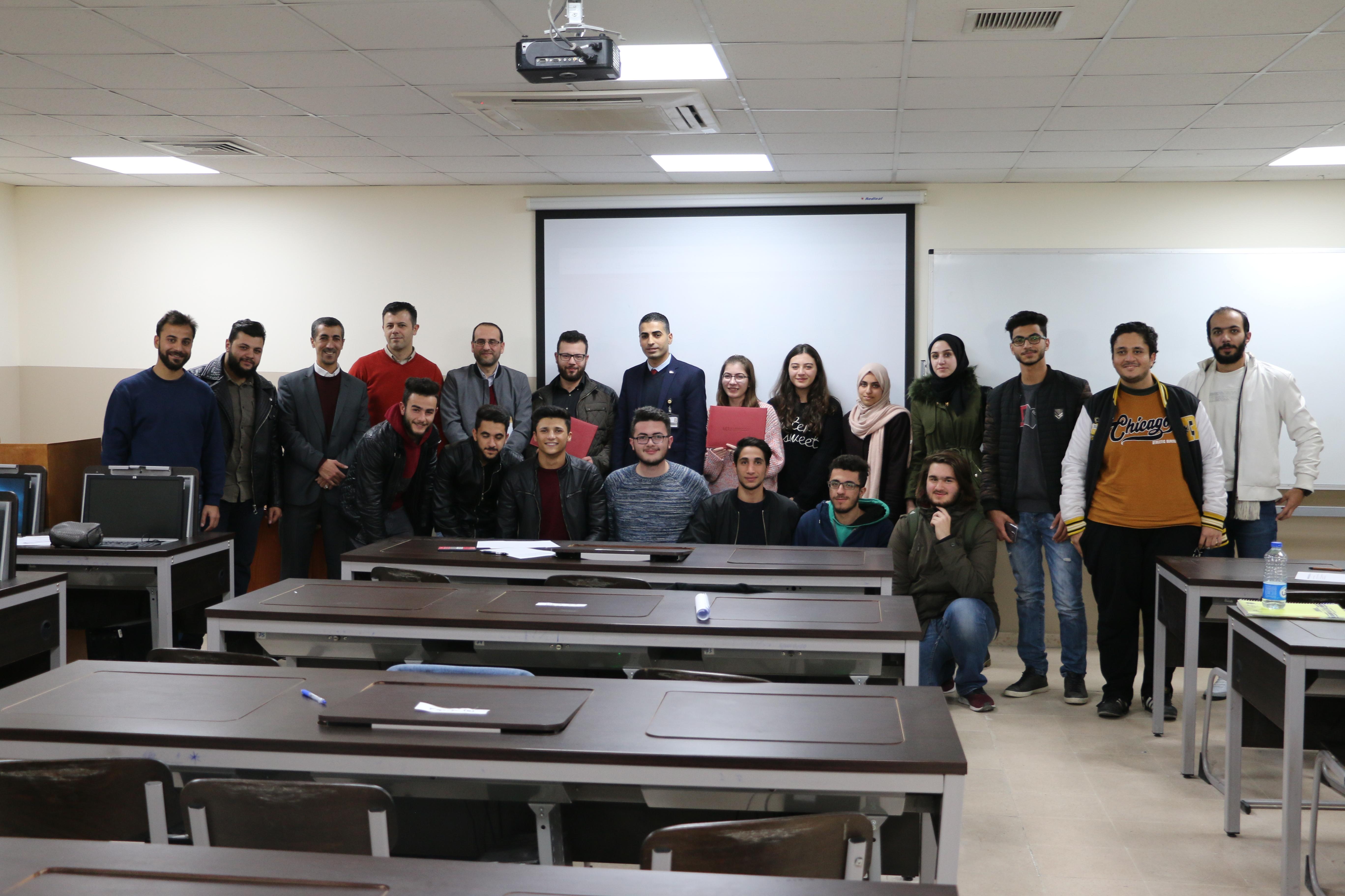 """تنظيم  مسابقة  أسرع مبرمج في تكنولوجيا معلومات """"الشرق الاوسط"""""""