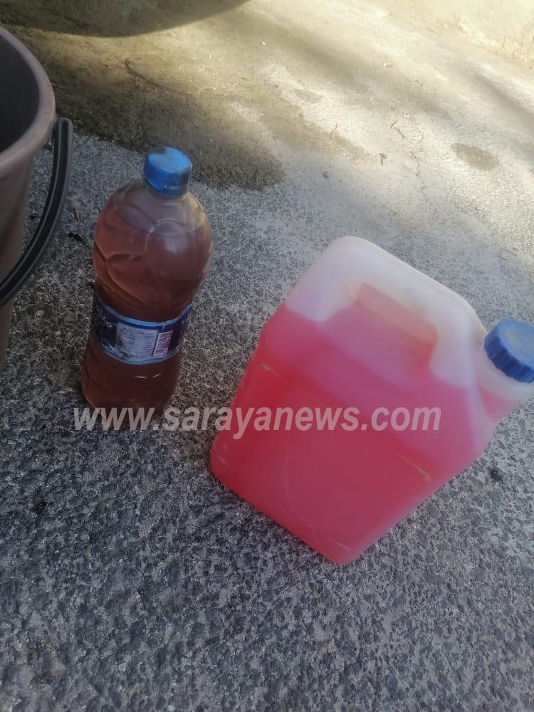 بالفيديو والصور ..  أردنيون يشكون مجدداً من بنزين سيء الجودة فيه نسبة من الماء يُعطّل مركباتهم ويزيد الاستهلاك