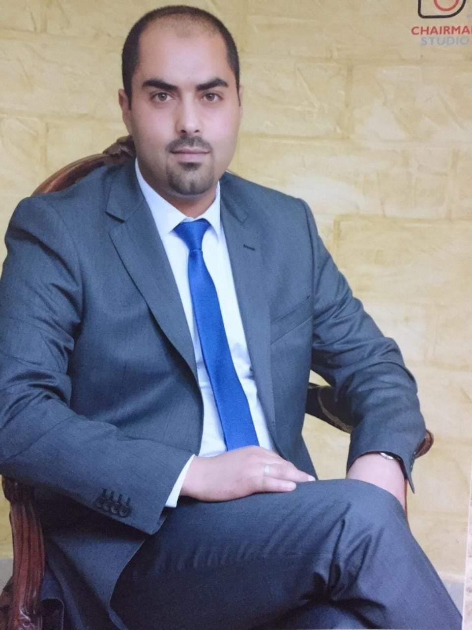 """محمود القطيشات """"ابو غيث""""  ..  مبارك الماجستير"""