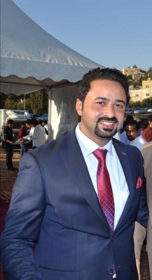 شكر وعرفان من الاستاذ علي الخبايبة