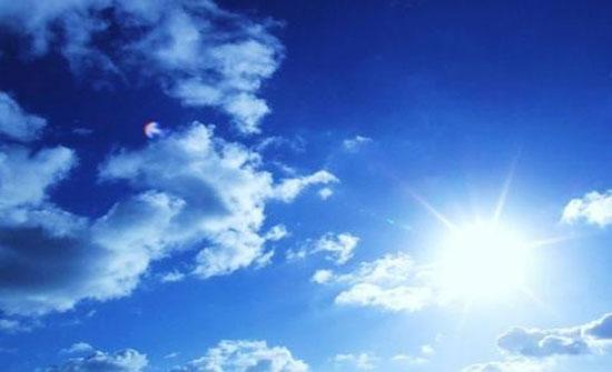 ارتفاع على درجات الحرارة واجواء مناسبة للرحلات الجمعة