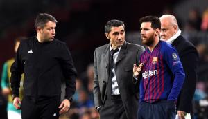 فالفيردي يتكتم على موقف ميسي من مباراة برشلونة اليوم