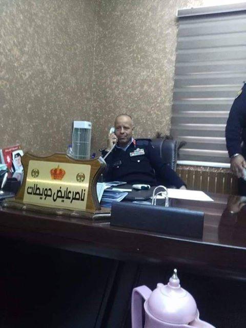 المقدم ناصر عايض الحويطات  .. مبارك الترفيع