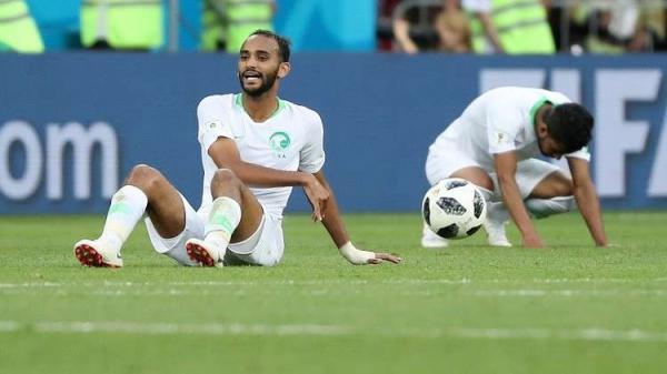 السعودية تتلقى خسارتها الثانية وتودع المونديال