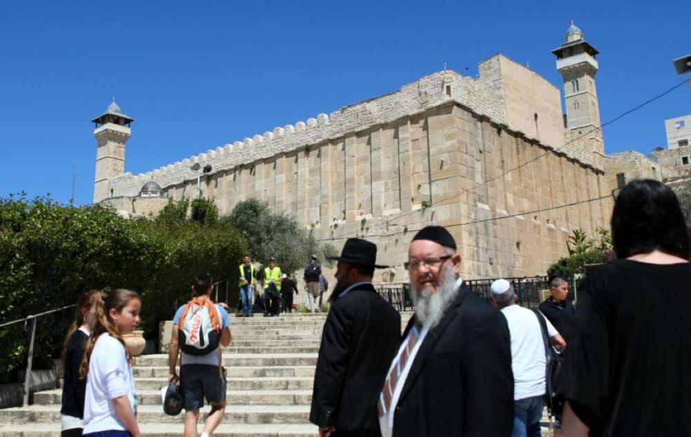 خطة إسرائيلية جديدة لتهويد الحرم الإبراهيمي الشريف في الخليل