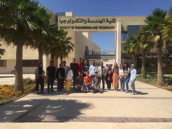"""""""الزيتونة الأردنية"""" تستقبل طلاب المجلس العربي للتدريب والابداع الطلابي"""