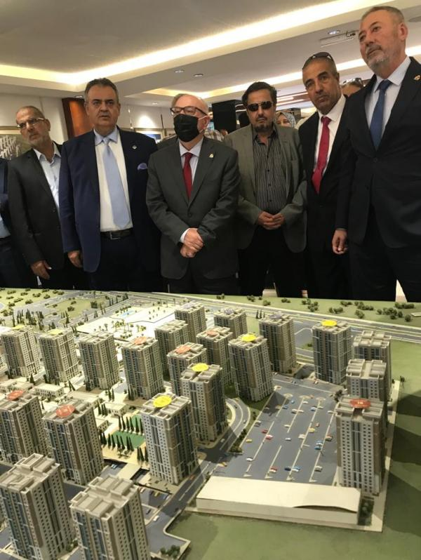إحالة مشروعين عراقيين لشركتين أردنيتين بقيمة 40 مليون دولار