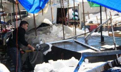 شاهد بالصور ..  رام الله بعد تساقط الثلوج