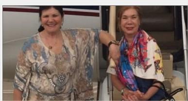 """والدة رونالدو تنشر صورة عبر """"إنستجرام"""".. وتعلق: """"فى الطريق لشرم الشيخ"""""""