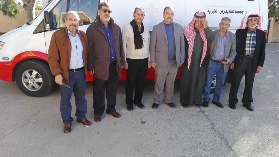 شكر و تقدير للدكتور عودة ابو ريشة و اشقاءه