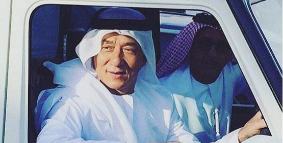 جاكي شان: السعودية مناسبة لفيلم أكشن