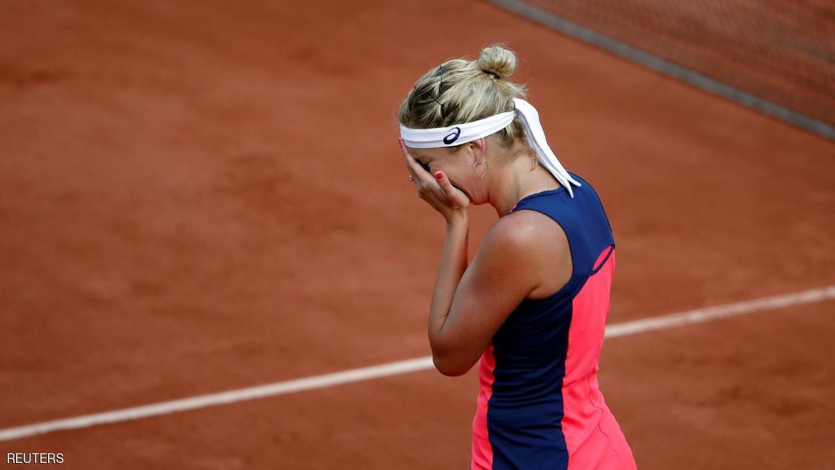 بالدموع ..  ملادينوفيتش تودع بطولة فرنسا المفتوحة